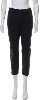Nili Lotan Mid-Rise Straight-Leg Pants