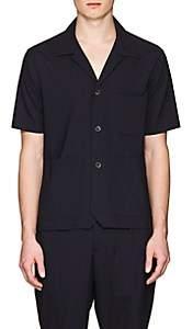 Barena Venezia Men's Virgin Wool Shirt - Navy