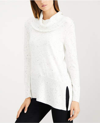 Calvin Klein Sparkle Fleck Turtleneck Sweater