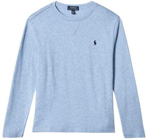 Blue Long Sleeve Sweatshirt