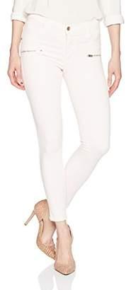 James Jeans Women's Twiggy Ankle Front Zip Skinny Jean