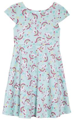 Love, Nickie Lew Unicorn Print Dress