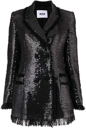 MSGM sequin blazer