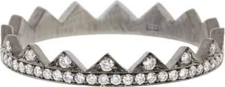 Eva Fehren Diamond Pave Crown Band