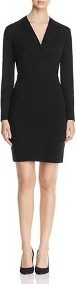 Elie Tahari Heather Long Sleeve Sheath Dress $298 thestylecure.com