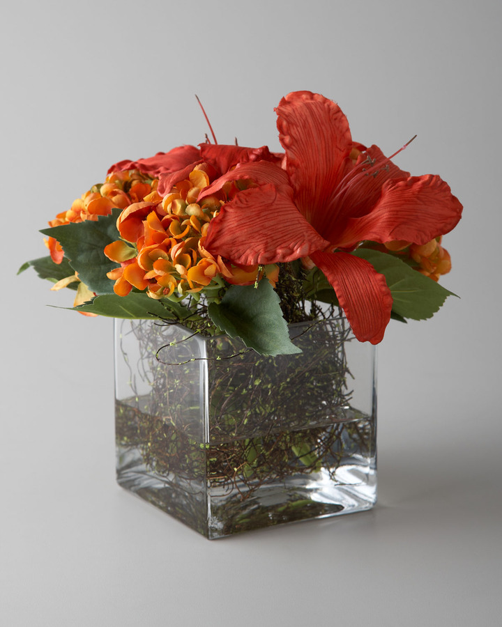 "John-Richard Collection Sunburst Delight"" Faux Floral Arrangement"