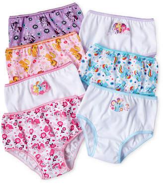 My Little Pony Novelty Licensed 7-pk. Brief Panties - Preschool Girls 4-6
