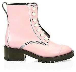3.1 Phillip Lim Women's Hayett Leather Combat Boots