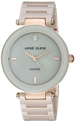 Anne Klein Dress Watch (Model: AK/1018RGTN)