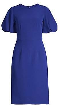 Milly Women's Italian Cady Kyle Sheath Dress