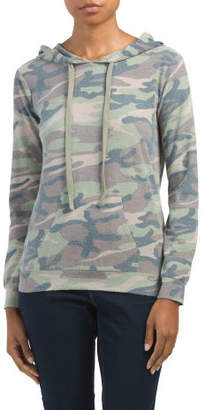 Reverse French Terry Camo Hoodie