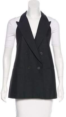 Stella McCartney Silk Double-Breasted Vest