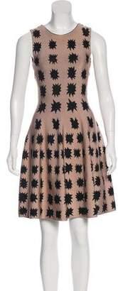 Issa Metallic Knit Dress