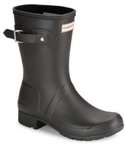Hunter Women's Original Tour Packable Short Rubber Rain Boots