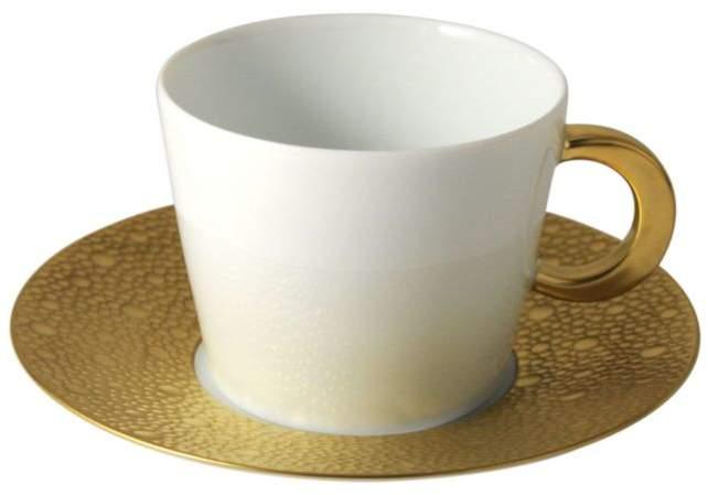 Bernardaud Ecume Gold Tea Saucer