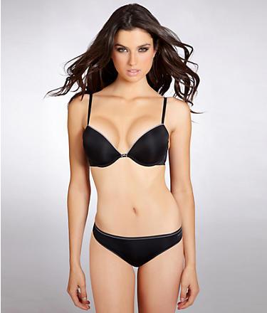 Calvin Klein Level 2 Naked Glamour Add-A-Size Plunge Bra