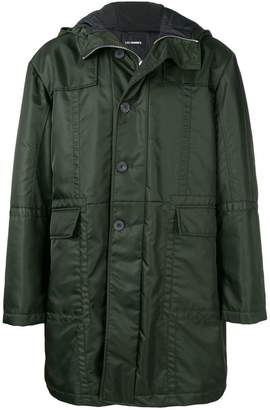 Les Hommes classic raincoat