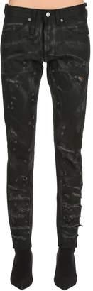 Ode To Strip Rock Skinny Denim Jeans