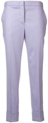 Pt01 plain cropped trousers