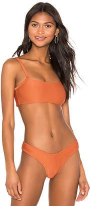 MinkPink Sunset Crop Bikini Top
