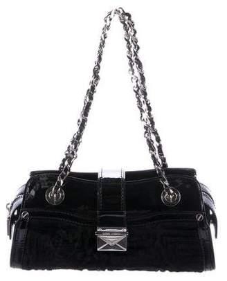 Versace Quilted Persian Lamb Bag