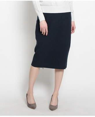 modify (モディファイ) - Modify ジップスリットミドルタイトスカート ワールドオンラインストアセレクト スカート