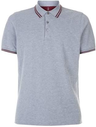 Brunello Cucinelli Tipped Collar Polo Shirt