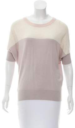 Trina Turk Wool Colorblock Sweater