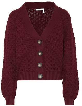 See by Chloe Cotton chunky-knit cardigan