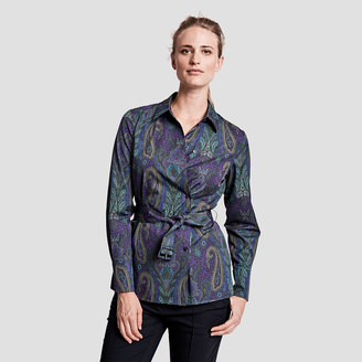 Amy Paisley Print Shirt $250 thestylecure.com