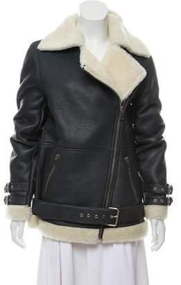 Walter Baker Aviator Zip-Up Coat