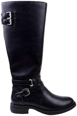 Helena NEW YORK TRANSIT New York Transit Womens Riding Boots Flat Heel