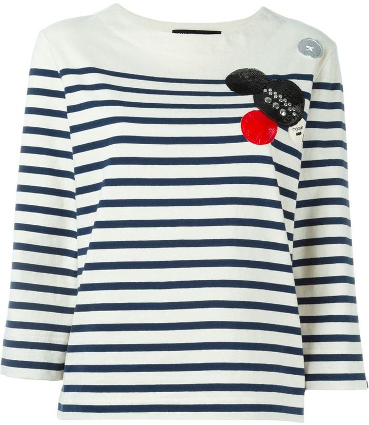 Marc By Marc Jacobs embellished T-shirt
