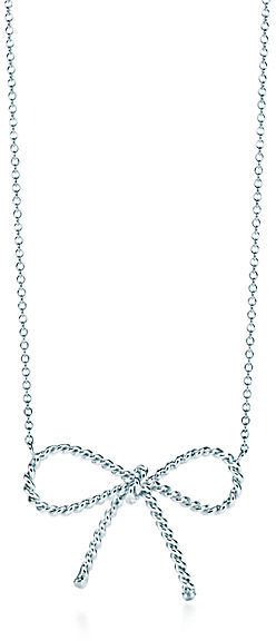 Tiffany Twist:Bow Pendant