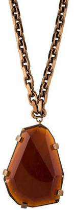 Burberry Crystal Pendant Necklace