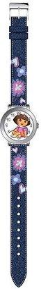 Dora the Explorer ストラップ腕時計 – デニム花