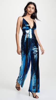 WAYF Sibyl Sequin Jumpsuit
