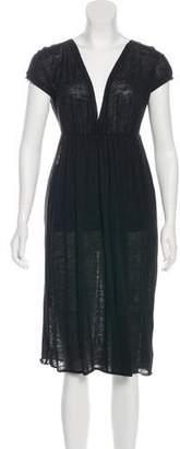 Giambattista Valli Linen and Silk-Blend Dress