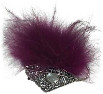 Fendi Faux fur earrings