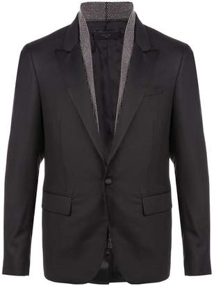 Amiri single button blazer