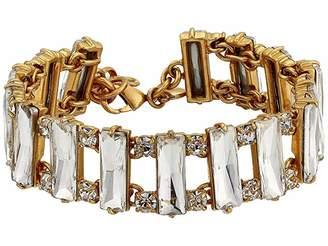 J.Crew Crystal Baguette Bracelet