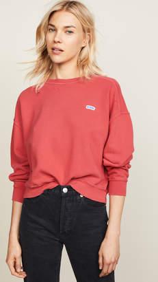 RE/DONE Crew Neck Sweatshirt