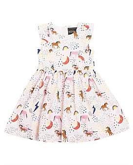 ec107ed3cfb6a Rock Your Kid Unicorn Rainbow Florrie Dress