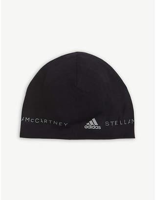 adidas by Stella McCartney Reflective logo wool beanie