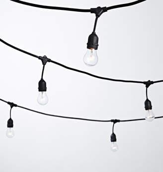 Rejuvenation 24 A15 Clear Bulb String Lights