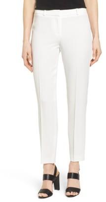 Women's Boss Tiluna 1 Slim Ankle Suit Trousers $275 thestylecure.com