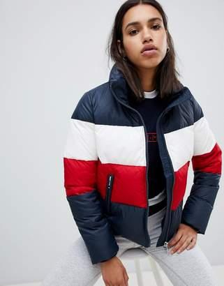 Tommy Hilfiger Color Block Padded Jacket