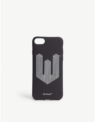 Off-White Stripe logo iPhone 8 case