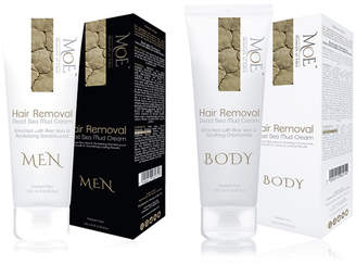 Minerals Of Eden His & Her's Hair Removal Dead Sea Mud Cream Duo