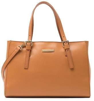 Isabella Collection Rhea Leather Shoulder Bag